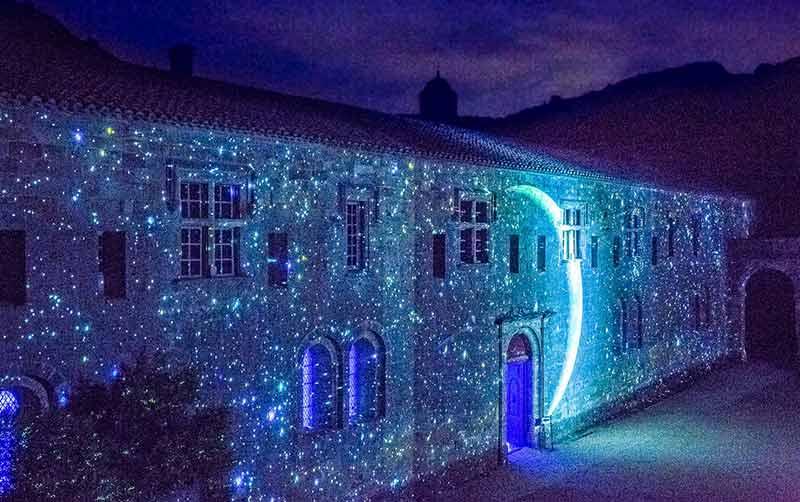 Abbaye de Fontfroide - Fontfroide la Nuit