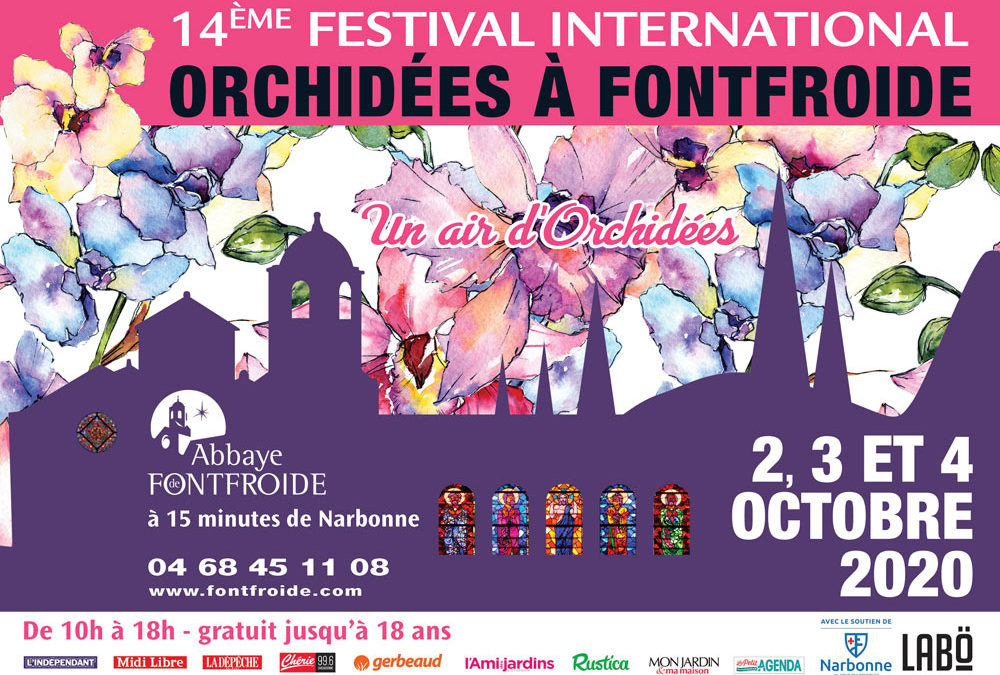 exposition orchidees fontfroide