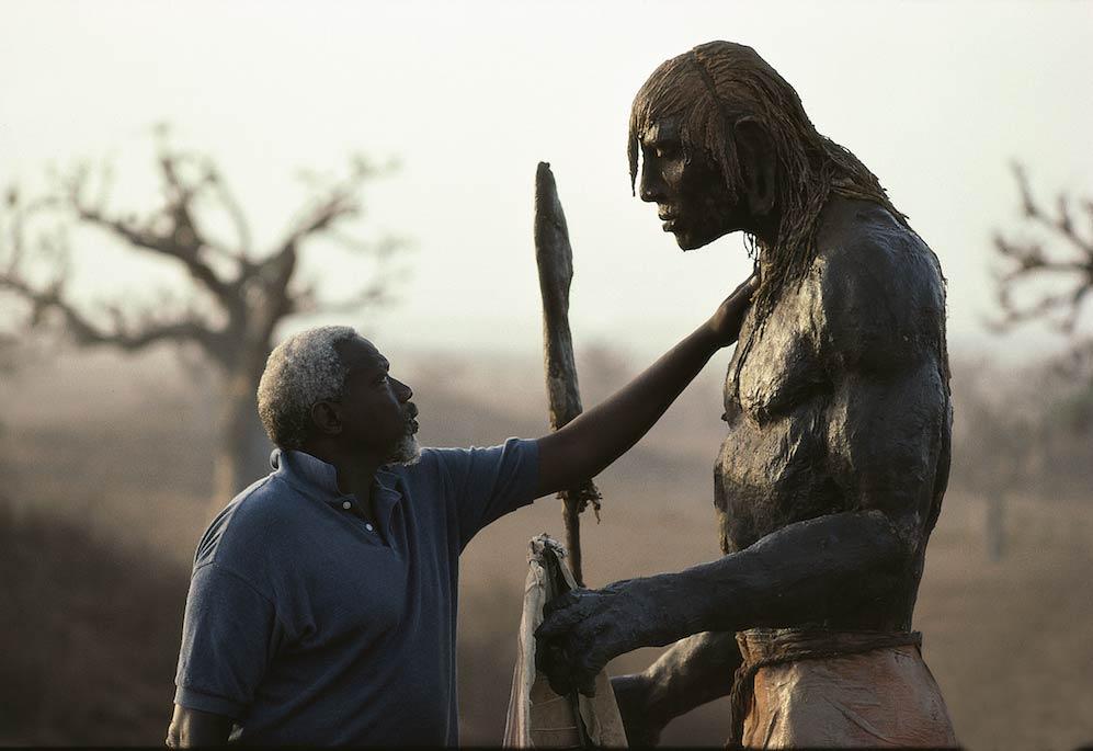 ousmane sow guerrier masai