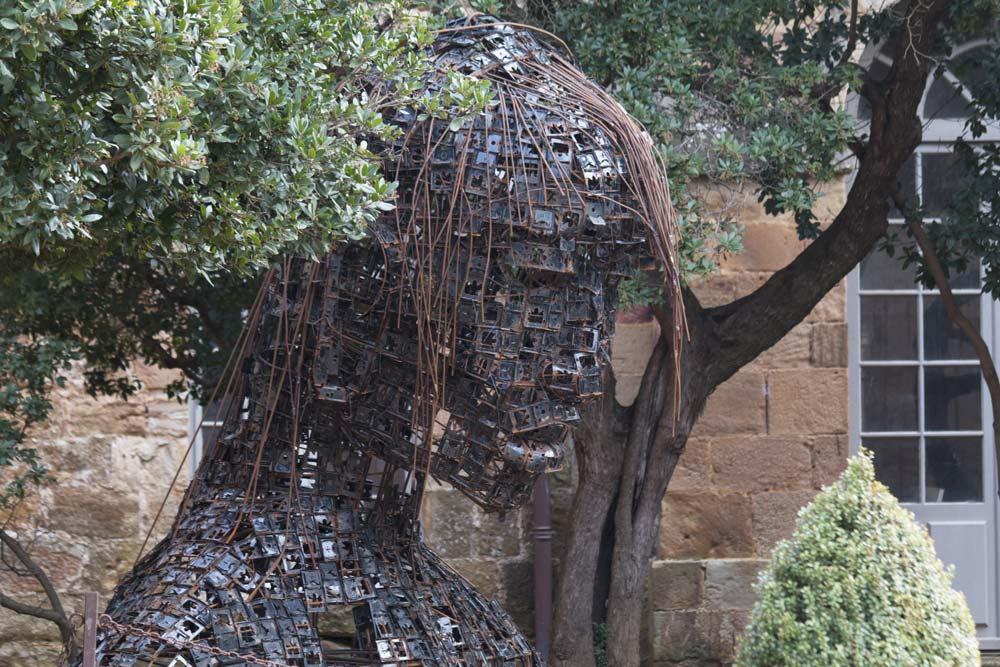 Abbaye de Fontfroide - DIALOGUE OUSMANE SOW & FREDDY TSIMBA