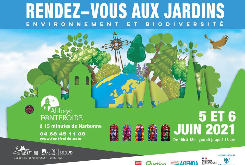rendez vous jardins 2021 narbonne occitanie