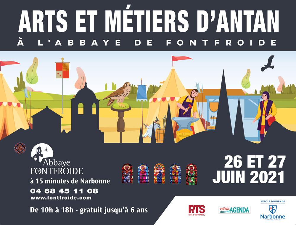 Abbaye de Fontfroide - ARTS ET MÉTIERS D'ANTAN