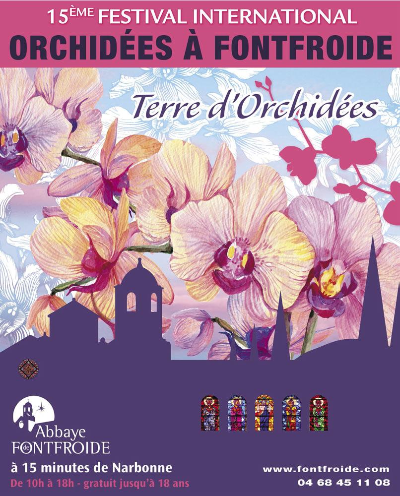Abbaye de Fontfroide - Festival International des Orchidées